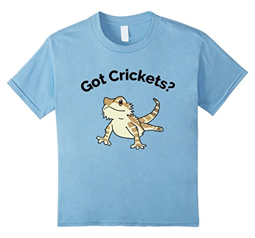 Bearded Baby Costume (Kids Bearded Dragon Got Crickets Bearded Dragon Accessory T Shirt 6 Baby Blue)