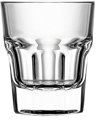 (Circleware 42790 Scorchers Shot, Set of 6, 1.5 Ounce, Clear Heavy Base Glassware Drinking Glass Cups for Whiskey, Vodka, Brandy, Bourbon & Best Selling Liquor Beverage Gifts )