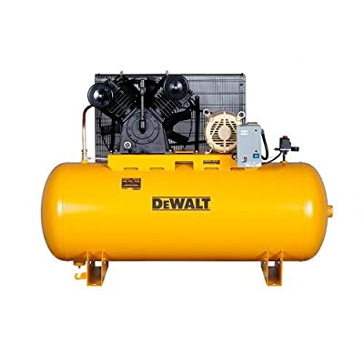 DeWalt DXCMH9919910 Two-Stage Cast Iron Industrial Air Compressor, 120-Gallon from MAT Outdoor Power Equipment