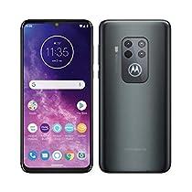 """Motorola One Zoom - Haz zoom a esta primavera - Alexa Hands-Free (Pantalla 6,4"""" FHD+, Sistema de 4 cámaras, 128 GB/4 GB, Android 9.0, Dual SIM)"""