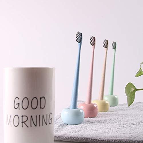 mini porta spazzolino da denti in ceramica per controsoffitti del bagno Kikier Portaspazzolino in ceramica giapponese