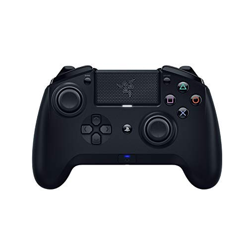 (Razer Raiju Tournament Edition with the1.04 Firmware Gaming Controller Bluetooth & Wired Connection (PS4 PC USB Controller with Four Programmable Buttons, Ergonomics Optimized for Esports))
