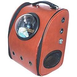 YANGJIANXIN Pet Bag, Pet Cage, Pet Carrier, Take-Out Bird Cage, Transparent and Portable, Suitable for Pet Travel