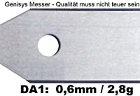 30 Messer (0,6mm) für den Husqvarna Automower