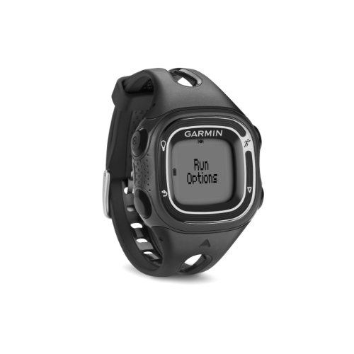Garmin Forerunner 10 GPS Watch (Black/Silver) Black