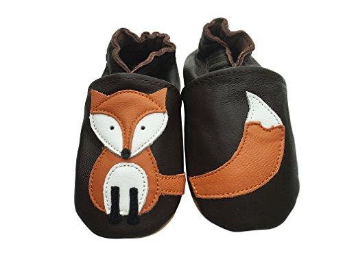 Engel+Piraten Krabbelschuhe Markenqualität Aus Deutschland- Viele Modelle bis 4 Jahre Babyschuhe Leder Lauflernschuhe Lederpuschen Fuchs Braun