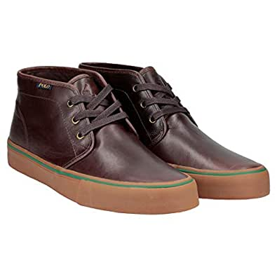 Polo Ralph Lauren Maykn Lace Up Boots for Men - Brown
