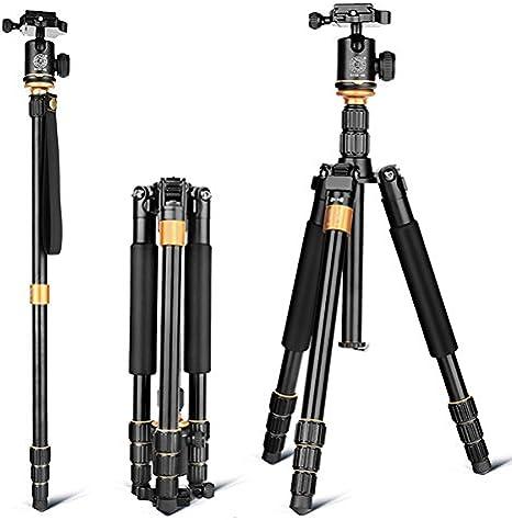 QZSD Q999S - Kit de trípode de aleación de aluminio para cámara ...