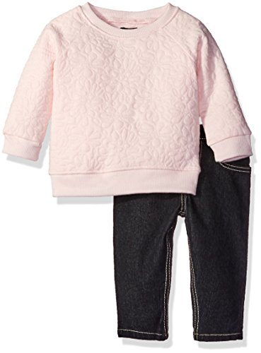 kensie-baby-girls-floral-quilted-knit-pullover-top-and-stretch-denim-jean-blushing-pink-24m