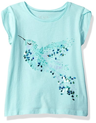 The Children's Place Girls' Petal Sleeve Knit Top