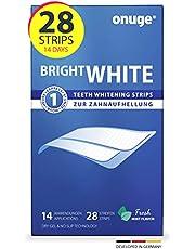 Onuge Bright White Teeth Whitening Strips voor het bleken van de tanden, zonder peroxide