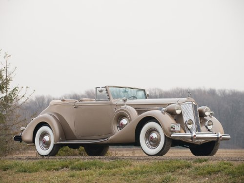 Packard Twelve Convertible Victoria (1937) Car Art for sale  Delivered anywhere in USA