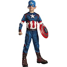 Rubies Costume Avengers 2 Age of Ultron Child's Captain America Costume, Small
