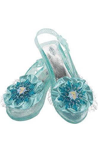 Disney's Frozen Elsa Shoes Girls Costume, One Size Child ()