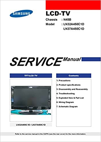 samsung manual ln40a550p3f