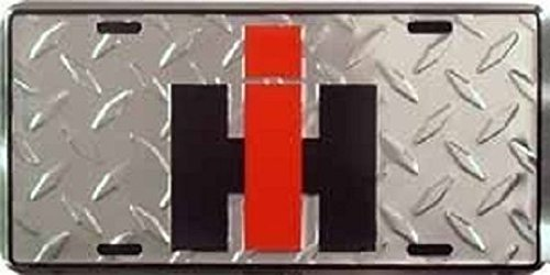 Home Comforts International Harvester IH Aluminum Auto License Plate Car Truck Tag Metal Sign