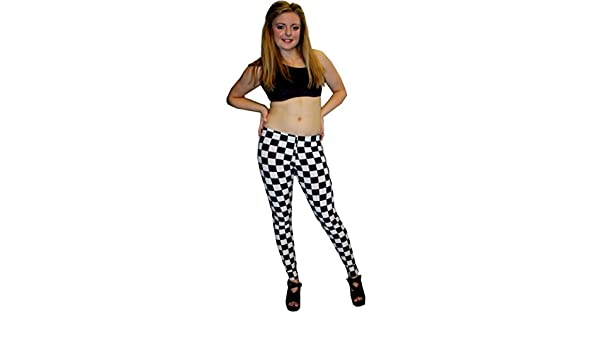 PLOKINC Yoga Pants for Women for Womens Workout Capris Houndstooth Design Squares Checkerboard High Waist Tights for Girls