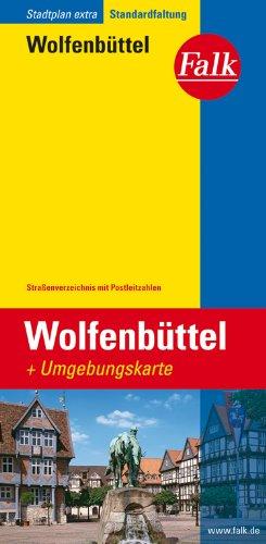 Falk Stadtplan Extra Standardfaltung Wolfenbüttel