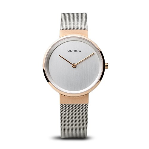 BERING Time 14531-060 Women Classic Collection Watch with Stainless-Steel Strap and scratch resistent sapphire crystal. Designed in Denmark