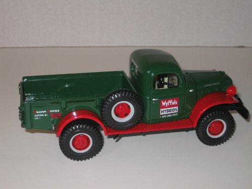 First Gear Die Cast Truck, 18-2797, 1949 Dodge Power Wagon-Express Pickup, Wyffels Hybrids, 1/30th scale