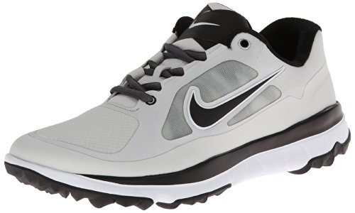 Nike Golf Logo Crew Sock Dri-Fit Light Base Grey/Light Base Grey//Black