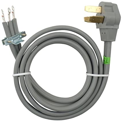 Amazon.com: Whirlpool 8171385RC 4-Feet 40-Amp 3 Wire Range Power ...