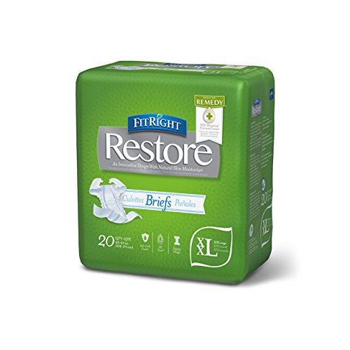 FitRight Restore Briefs Absorbency Available