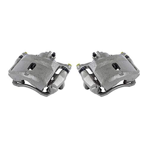 CKOE01051 [ 2 ] FRONT Premium Grade OE Semi-Loaded Caliper Assembly Pair Set