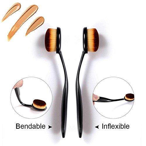Toothbrush Style Makeup Foundation Brush - 8