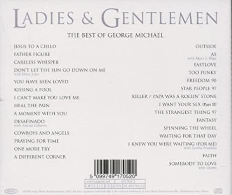 Ladies & Gentlemen... The Best Of George Michael: Michael, George ...
