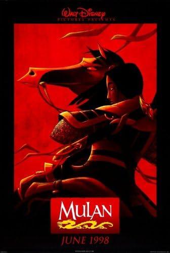 Amazon Com Mulan 1998 Original Movie Poster 27x40 Dbl Sided Ming Na Wen June Foray Soon Tek Oh Everything Else