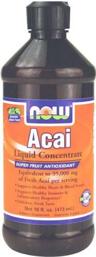 NOW Foods Liquid Concentrate Acai, 16 oz