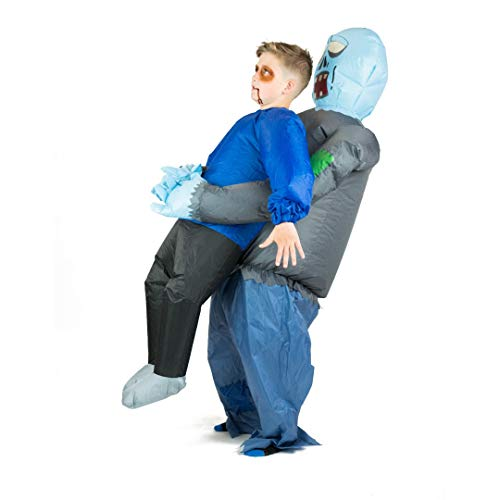 Bodysocks Kids Inflatable Zombie Fancy Dress Costume