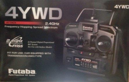 双葉電子工業 ATTACK 4YWD (2.4GHz) :S3003x3付セット 025884 B00F33KO1O
