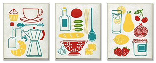 The Stupell Home Decor Collection Sunday Breakfast, Dinner and Picnic