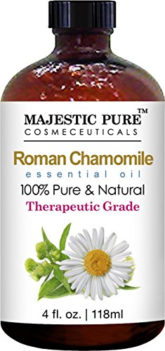 Chamomile-Essential-Oil-From-Majestic-Pure-4-Fl-Oz-Premium-Quality-Roman-Chamomile-Oil