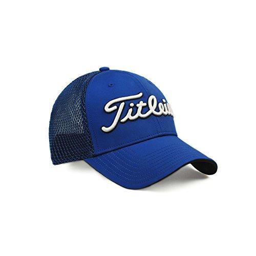 Titleist Men's Golf Cap (Two-Tone Mesh) (Free, Two-Tone Mesh, Royal)