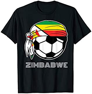 [Featured] Zimbabwe Soccer Jersey | 2019 Fans Kit Football Warriors in ALL styles | Size S - 5XL