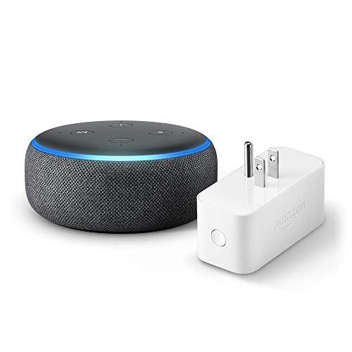 Echo Dot (3rd Gen) Bundle with Amazon Smart Plug Only $39.99
