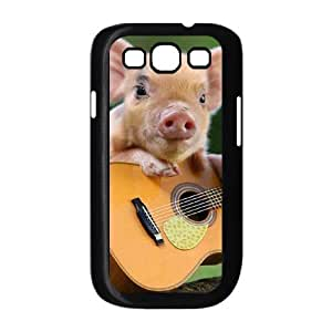 Diy Cute Pig Phone Case for samsung galaxy s3 Black Shell Phone JFLIFE(TM) [Pattern-2] hjbrhga1544