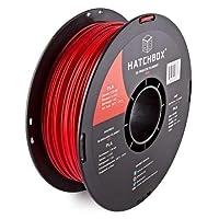 Deals on Hatchbox PLA 3D Printer Filament 1 kg Spool, 1.75 mm
