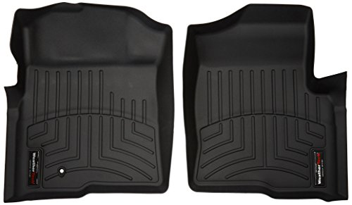 WeatherTech  441791  Custom Fit Front FloorLiner for Ford F-150 (Black)