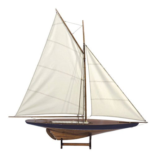 Sail Model 1901 - Handcrafted America's Cup Yacht Replica -
