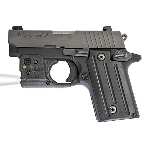 Viridian Reactor RTL Tactical Pistol and Handgun Light, ECR Instant On Technology, Radiance Lighting