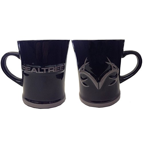 realtree-outfitters-hot-or-cold-beverage-ceramic-coffee-cup-15oz-black-mug-grey-antler-logo