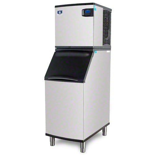 Manitowoc IY-0525W_B-420 480 Lb Water-Cooled Half Cube Ice Machine w/ Storage Bin by Manitowoc
