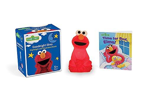 Sesame Street: The Goodnight Elmo Kit: Nightlight and Illustrated Book (Miniature (Sesame Street Elmo Picture)