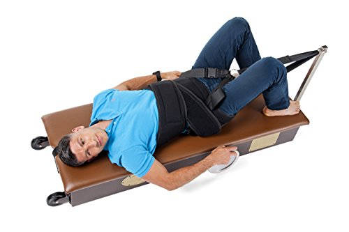 """LumbarTrac Spinal Fitness Machine (Regular Sized Harness Fits Waist 16"""" to 50"""") Cervical Halter Not Included"""