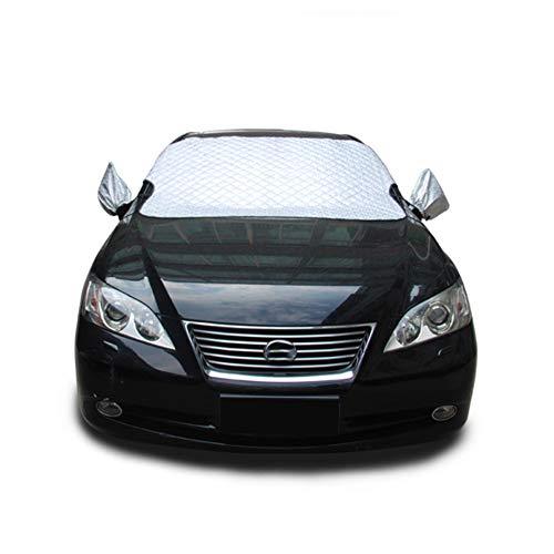 Cubierta de nieve para parabrisas, protector contra heladas para automóviles, SUV compactos y de tamaño mediano con...