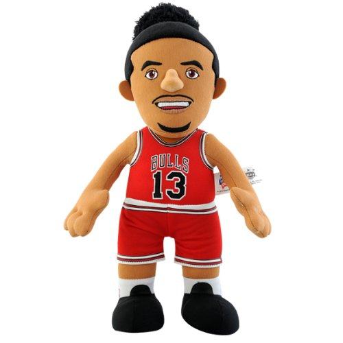 NBA Chicago Bulls Joakim Noah Player Plush Doll, 6.5-Inch x 3.5-Inch x 10-Inch, Red